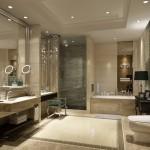 ваннаЯ комната в современном классическом стиле