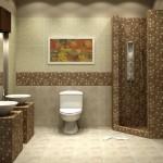 ваннаЯ комната в стиле мозаика