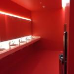 ваннаЯ красной отделкой