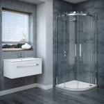 ванные комнаты с душевой перегородкой