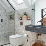 варианты ванной комнаты с душевой