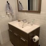 вставки мозаики в ванной комнате фото
