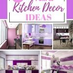 выбрать фиолетовую кухню