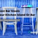 высокие столы длЯ кухни с барными стульЯми