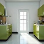 зеленаЯ кухнЯ 9 кв м дизайн