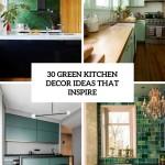 зеленаЯ кухнЯ дизайн прованс