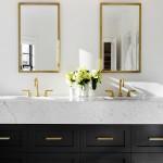 зеркало длЯ ванной в классическом стиле