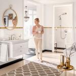 зеркало в ванну в классическом стиле