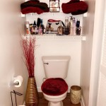 Bathroom Decor Ross Red Gold Ideas Decorations College Cute