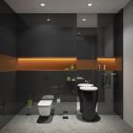 зеркало в ванную в современном стиле